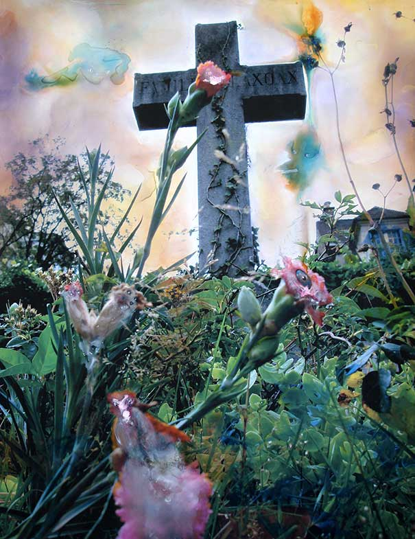 Croix fleurie (100cm x 80cm) - 2007