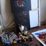 Préparation Mac Paris 2013 toujours avec le chat