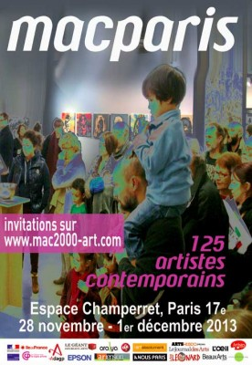 Affiche MAC Paris 2013