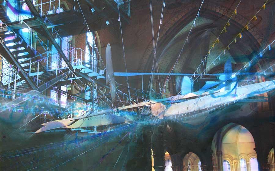 Chapelle Arts et Métiers (116cm x 83cm) - 2009