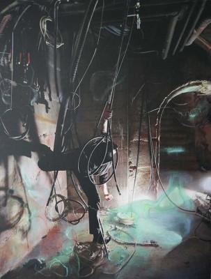 Gaz Vert (116cm x 89cm) - 2013