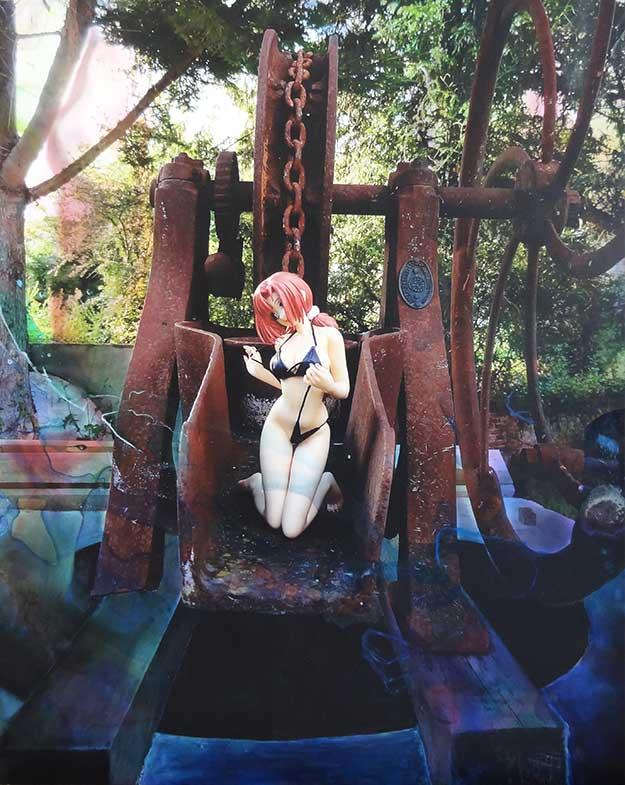 Lolita manga au puits (130cm x 97cm) - 2012