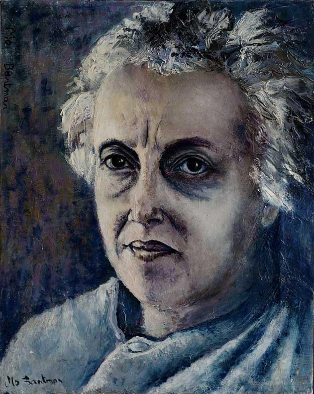 Madame Bantman (41cm x 33cm) - 1984