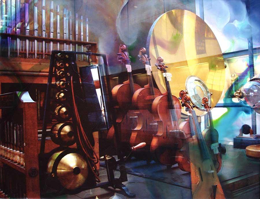 Musique Arts et Métiers (65cm x 50cm) - 2009