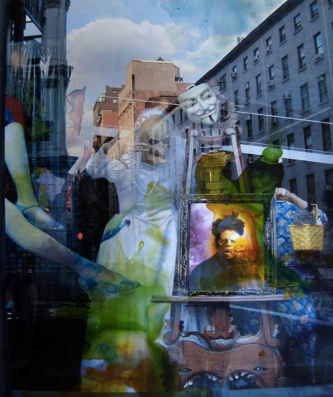 Reflets New York (116cm x 89cm) - 2008