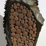 Sculpture bronze bois - Hervé Bourdin
